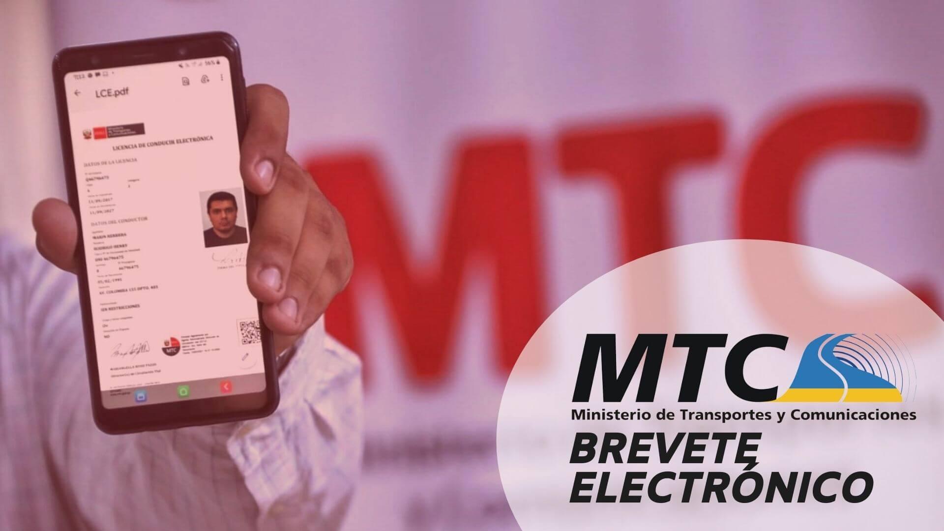 brevete-electronico-mtc
